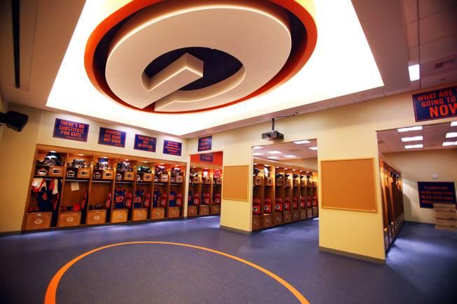 Bishop Gorman Football Locker Room